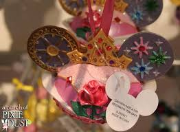 a pinch of pixie dust pretty and pink disney ear ornaments