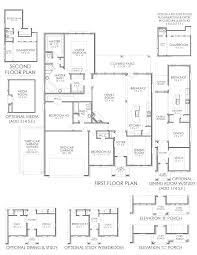 the magnolia the grove new home floor plan midlothian texas