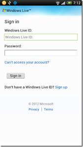 microsoft access for android 2 android apps to access your skydrive account