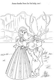 coloring elsa and annaring book frozen olaf pages nice for kids