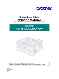 brother hll 2170w service manual electromagnetic interference