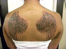 wing tattoos on back wing tattoos for on back fresh 2017