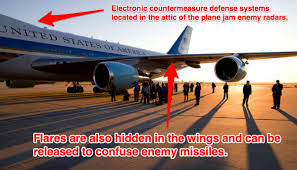air force one airborne countermeasures systems upd