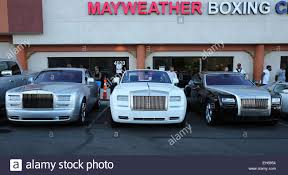 mayweather car collection floyd mayweather jr media workout at mayweather boxing club las