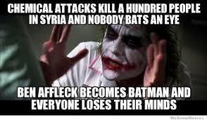 Ben Affleck Batman Meme - ben affleck becomes batman and everyone loses their minds
