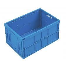 banette de bureau folding plastic bin 600 x 400