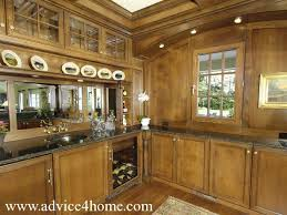 Kitchen Marble Design by Solid Wood Cabinets Design And Black Platform Marble In Modern