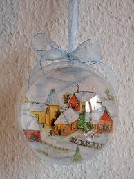 christmas decoration and gift idea winter village ornament