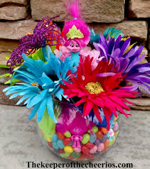 troll for halloween trolls party centerpiece idea