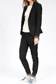 mos mosh blazer by mos mosh in black