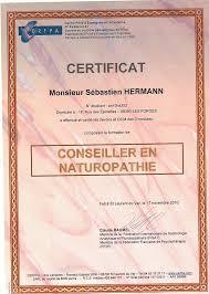 3 bureau des diplomes naturopathe diplômé nutritionniste exerçant sur le secteur d epinal