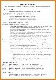 Resume Template Executive Assistant 8 Executive Assistant Resume Sample Resume Reference