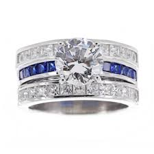 Jcpenney Wedding Rings by Sterling Silver Bridal Ring Set 4