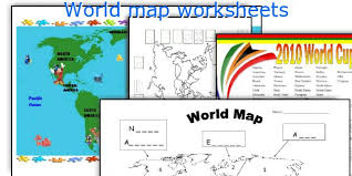 english teaching worksheets world map