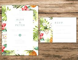 hawaiian theme wedding hawaiian theme wedding invitations simplo co