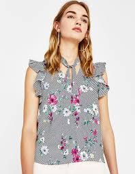 blouses with bows shirts blouses clothing bershka united states