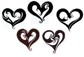 tattoo heart designs clip art library
