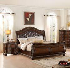 european king bed homey design hd 1208 classic european dark brown button tuft king