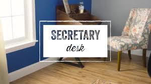 Drop Lid Secretary Desk by Secretary Desk World Market