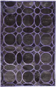 Purple And Grey Area Rugs Directory Galleries Modern Leather Area Rugs