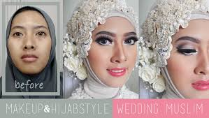 tutorial make up wardah untuk pesta tutorial makeup dan hijabstyle akad nikah wedding muslim modern by