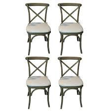 Restoration Hardware Bistro Table Restoration Hardware Caned Bistro Chairs Set Of 4 Chairish