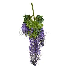 wisteria home decor 24x artificial silk wisteria leaf hanging flower garland vine