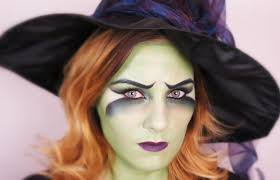 fasching halloween witch makeup tutorial thebeautysaddiction