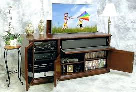 auto raising tv cabinet tv lift cabinet foot of bed custom made black foot of the bed lift