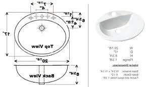 Bathroom Sink Sizes Standard The Most Standard Bathroom Sink Drain Pipe With Regard To Bathroom Sink Drain Pipe Size Plan Jpg