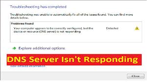 dns server not responding error fix howtosolveit youtube