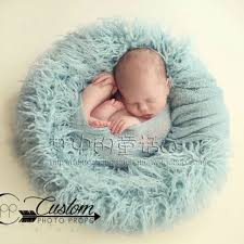 infant photo props aliexpress buy 24in circle wool fur blanket newborn