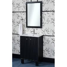 24 Inch Vanity With Sink In Series 24 Inch Traditional Single Sink Bathroom Vanity Black Finish