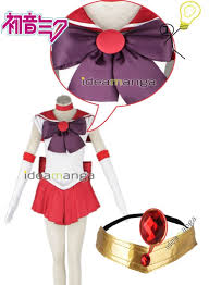 Sailor Mars Halloween Costume Anime Pretty Soldier Sailor Moon Hino Rei Sailor Mars Cosplay