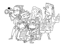 the wild thornberrys coloring pages for kids printable free