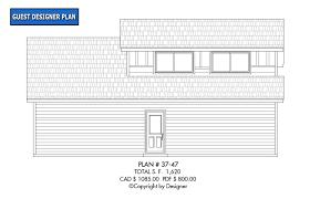 garage plan 37 47 house plans by garrell associates inc