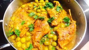 poulet aux citrons confits cuisine poulet aux olives