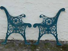wrought iron bench ends cast iron bench ends ebay