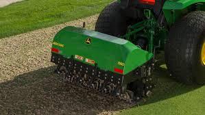 aeration equipment tc125 turf collection system john deere us
