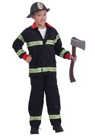 latin halloween costumes child black fireman costume