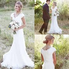 cheap brides dresses cheap 2017 simple country wedding dresses a line v neck lace
