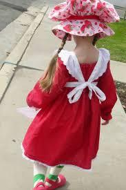 Strawberry Shortcake Halloween Costume Halloween Costume Week 3 Vintage Strawberry Shortcake