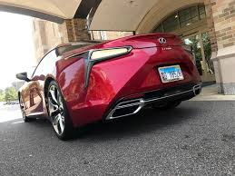 red lexus 2018 2018 lexus lc 500 the car that wasn u0027t supposed to exist wxlv