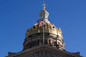 Iowa State Capitol by Water Damage Strikes Golden Dome Capitol Restoration Planned