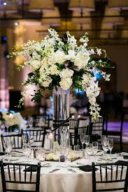 black and white centerpieces stunning black and white themed weddings ideas styles ideas