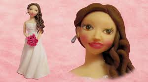 Bride Cake Bride Out Of Fondant Cake Topper Easy And Quick To Make