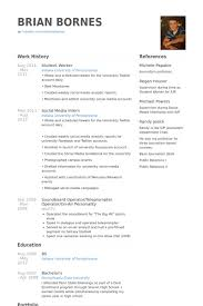 Picture Of Resume Examples by Student Worker Resume Samples Visualcv Resume Samples Database