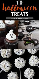 Halloween Mummy Cakes 10 Halloween Treats As Easy As Apple Pie