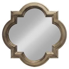Decorative Mirrors Target Clover Decorative Wall Mirror Gold Threshold Target