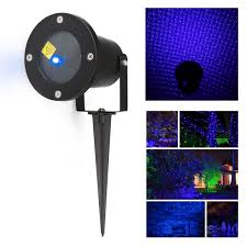 Christmas Laser Projector Lights by Outdoor Waterproof Lawn Lights Show Firefly Star Landscape Laser